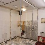 Transformation de douche en Sanitaire PMR